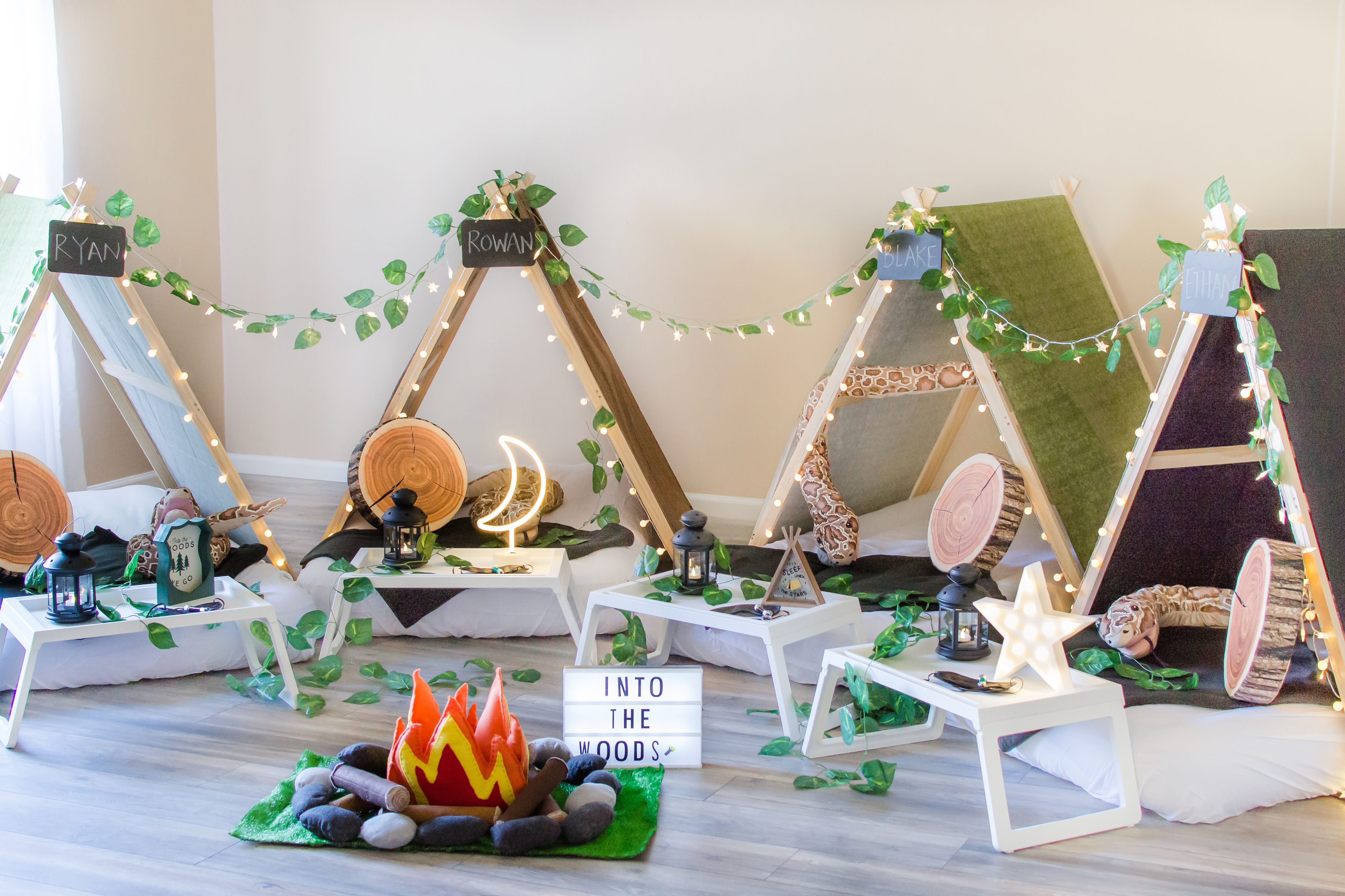 Tiny Teepeezzz Slumber Party Tent Rentals L Themed